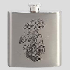 Two Tone Skull Flask