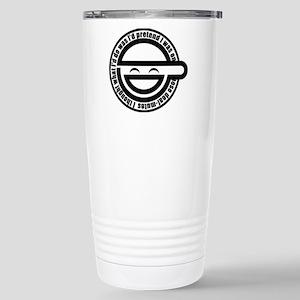 Laughing Man Stainless Steel Travel Mug