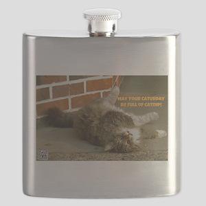 Caturday Catnip Flask