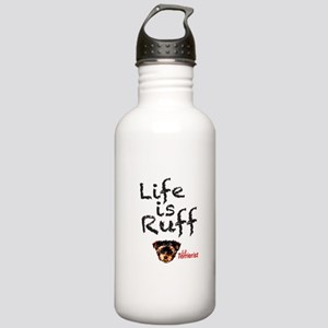 Life is Ruff Stainless Water Bottle 1.0L