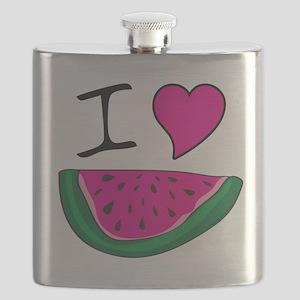 I Love Watermelon Flask