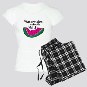 Watermelon Makes Me Smile Women's Light Pajamas
