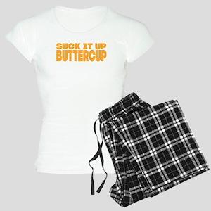 Suck it Up, Buttercup - Bold Women's Light Pajamas