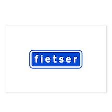 fietser Postcards (Package of 8)