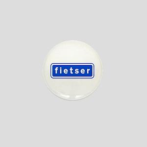 fietser Mini Button