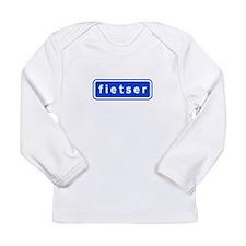fietser Long Sleeve Infant T-Shirt
