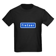 fietser Kids Dark T-Shirt