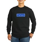 fietser Long Sleeve Dark T-Shirt