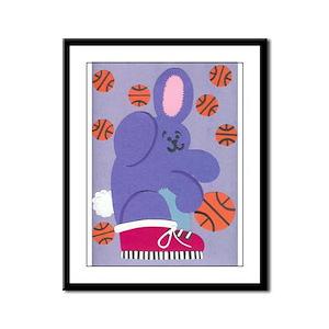Benjamin Bunny Framed Panel Print