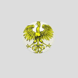 Yellow Phoenix Mini Button