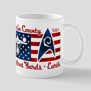 Marin County Starfleet Yards Mug