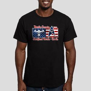 Marin County Starfleet Yards Men's Fitted T-Shirt