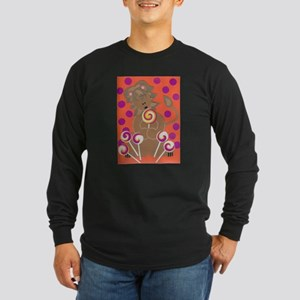 Lawrence Lion Long Sleeve Dark T-Shirt
