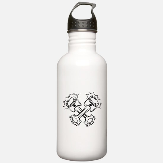 Pistons Water Bottle