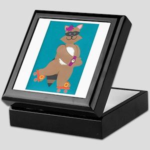 Robin Raccoon Keepsake Box