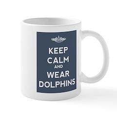 Keep Calm and Wear Dolphins Mug