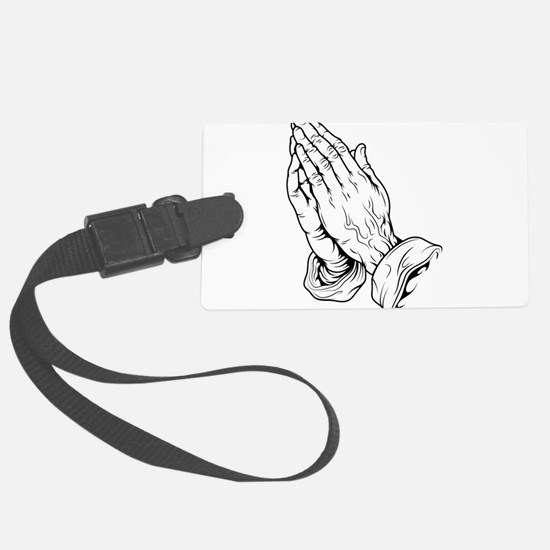 Praying Hands Luggage Tag