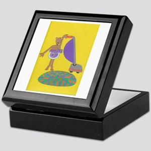 Violet Vole Keepsake Box