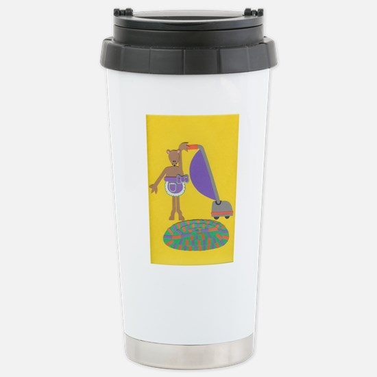 Violet Vole Stainless Steel Travel Mug