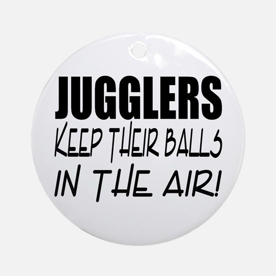 Jugglers... Ornament (Round)