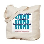 The Stupid Paradox Tote Bag