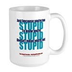 The Stupid Paradox Large Mug
