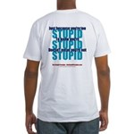 The Stupid Paradox Fitted T-Shirt