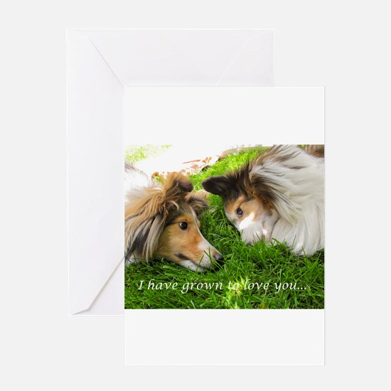 I have grown to love you Greeting Card