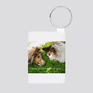 I have grown to love you Aluminum Photo Keychain