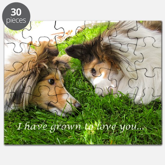 I have grown to love you Puzzle
