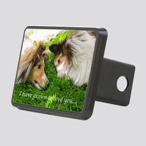 I have grown to love you Rectangular Hitch Cover