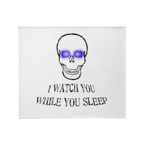 Watch You Sleep Throw Blanket