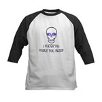 Watch You Sleep Kids Baseball Jersey