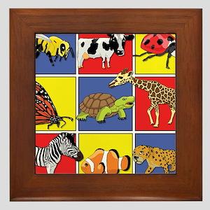 Animals Framed Tile