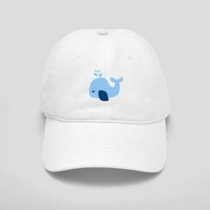 Light Blue Whale Cap