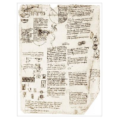 Da Vinci's notebook Poster
