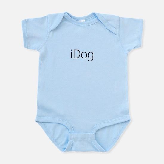 iDog black Infant Bodysuit
