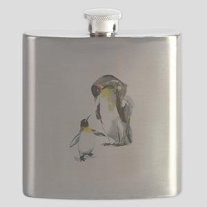 Parent-child Penguin Flask
