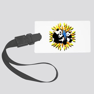 Panda Planet Large Luggage Tag