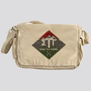 Sigma Tau Gamma Mountains Diamonds Messenger Bag