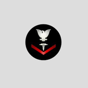 Navy PO3 Corpsman Mini Button