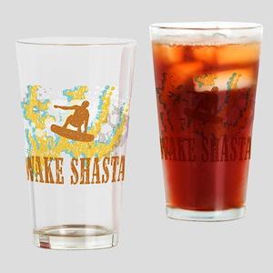 Wake Shasta Drinking Glass