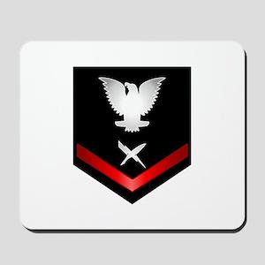 Navy PO3 Cryptologic Technician Mousepad
