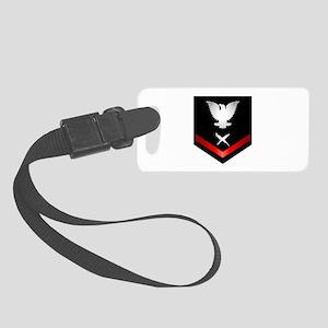 Navy PO3 Cryptologic Technician Small Luggage Tag