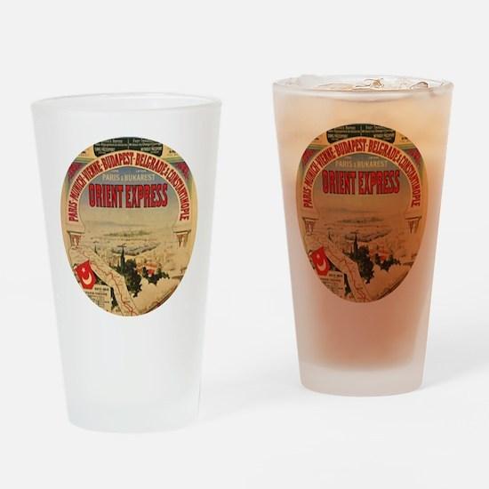 Orient Express Drinking Glass