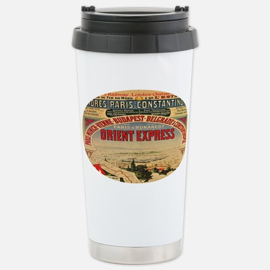 Orient Express Stainless Steel Travel Mug