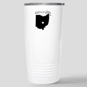 Columbus Ohio Stainless Steel Travel Mug