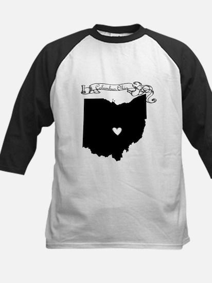Columbus Ohio Kids Baseball Jersey