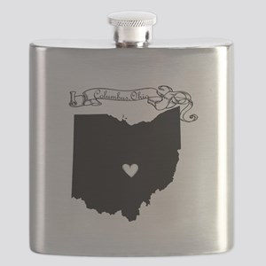 Columbus Ohio Flask