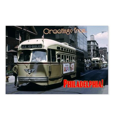 Philadelphia Tan PCC Postcards (Pkg/8)